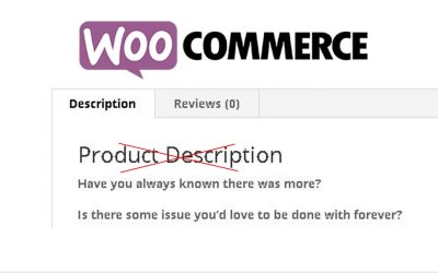 Removing Product Description from Woocommerce