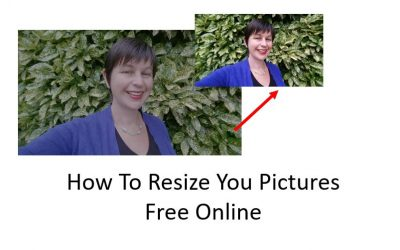 How To ReSIZE Your Pictures Free Online