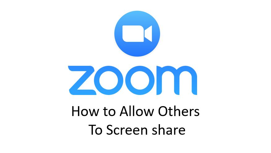Zoom – How to Allow Others To Screenshare